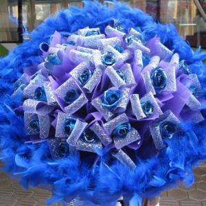 你知道蓝色妖姬是怎么种植出来的吗?